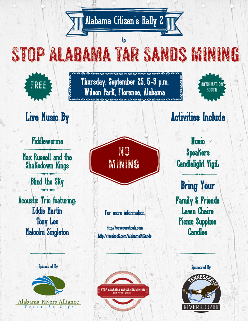 Citizens Rally 2 Stop Alabama Tar Sands Mining