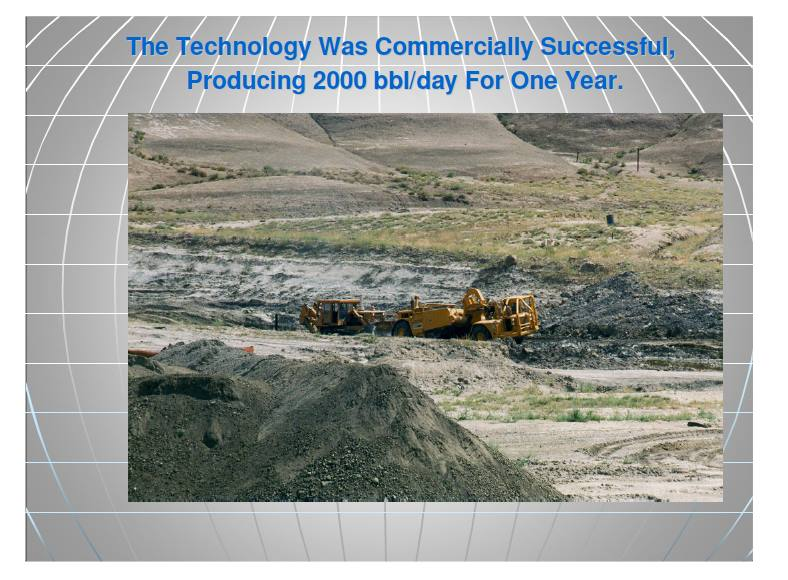 Wyoming oil sands mining project